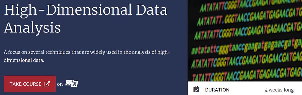 High-Dimensional Data Analysis