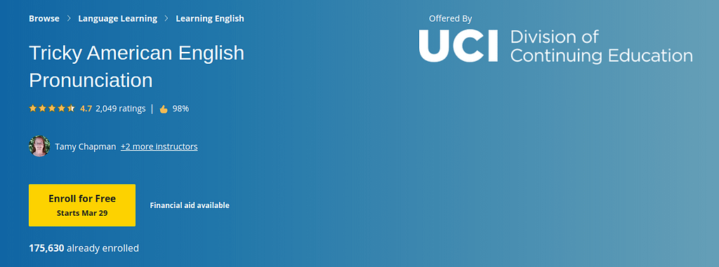Tricky American English Pronunciation