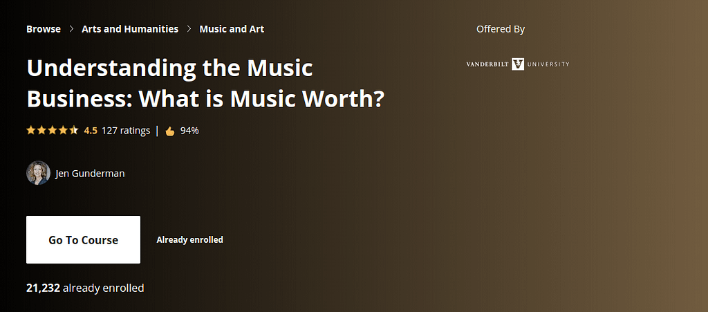 Understanding the Music Business: What is Music Worth?