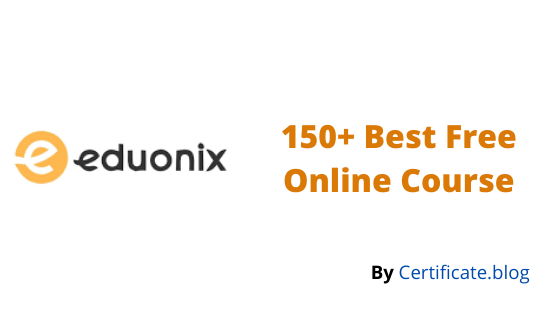 150+ Best Free Online Course From eduonix