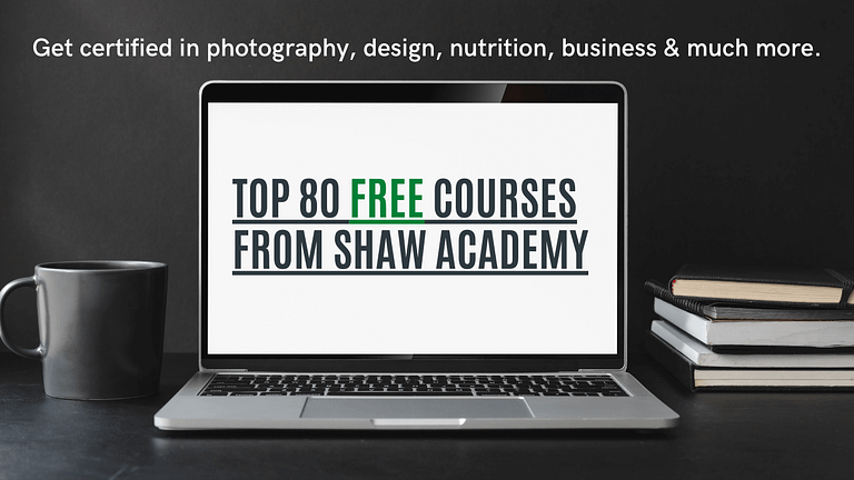 Top 80 Free Courses From Shaw Academy