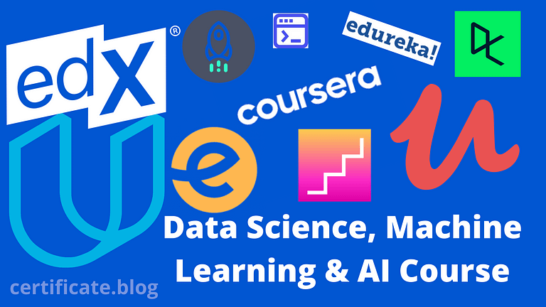 Best Free & Paid Online Course Of Data Science, Machine Learning & AI Course [ Updated March 2021]