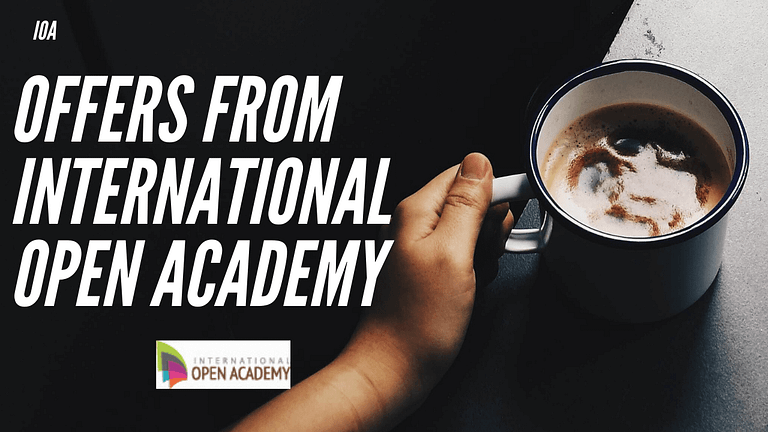 Top 100 Today's Offers From International Open Academy