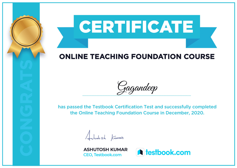 Online Teaching Foundation Course – with Latest Practices