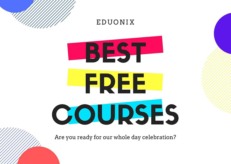 4.9+ Rated Free Online Courses from eduonix [UPDATED January 2021]