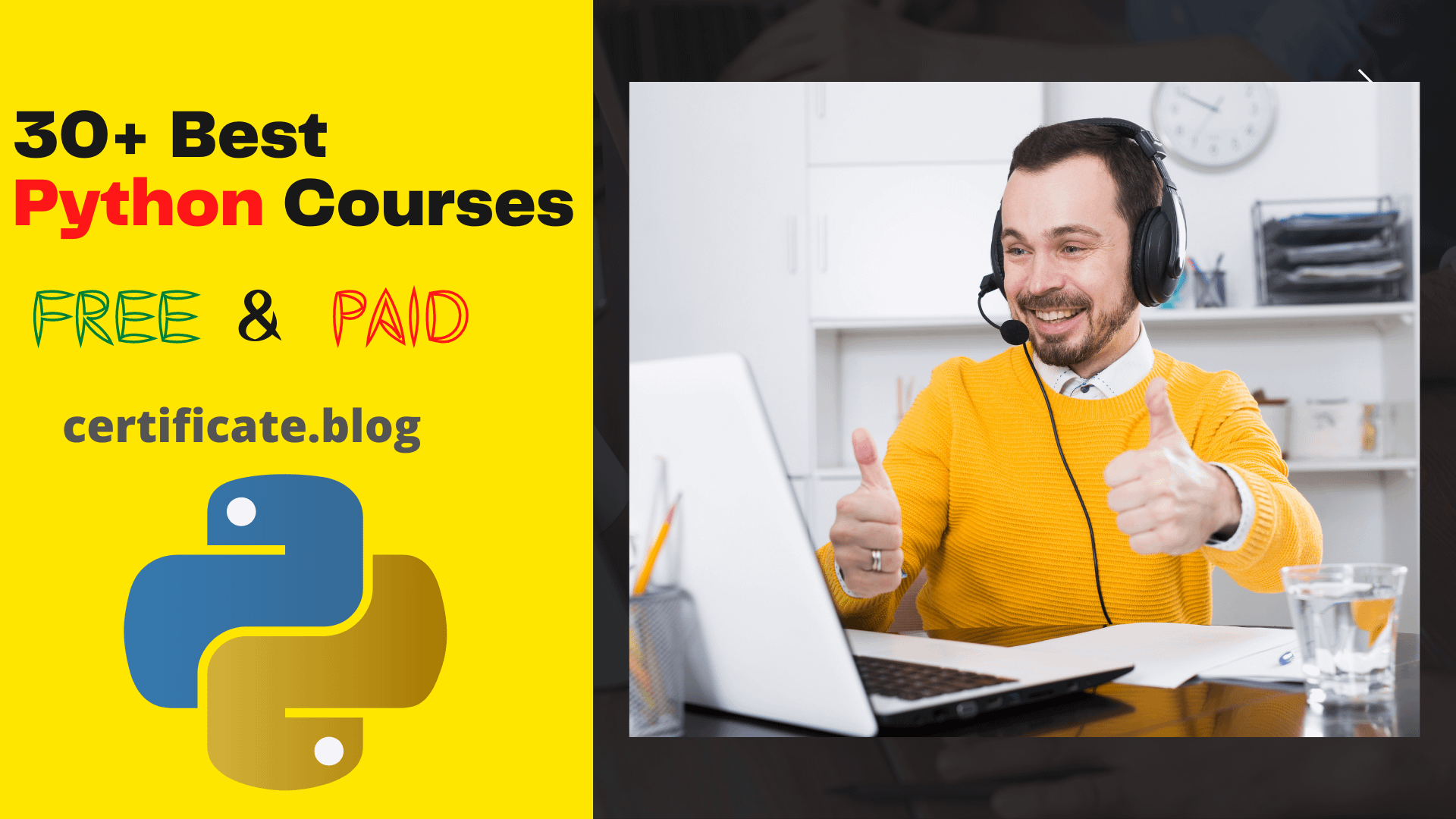 30+ Best Python Courses Free & Paid 2021