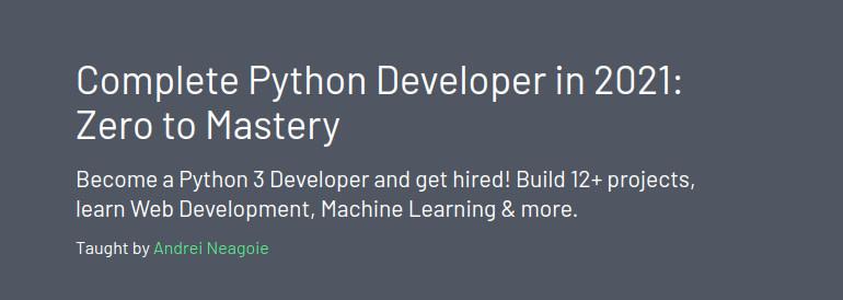 FireShot Capture 310 - Complete Python Developer in 2021_ Zero to Mastery - Zero To Mastery_ - academy.zerotomastery.io