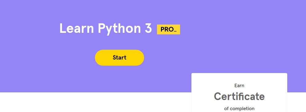 Learn Python 3 - Codecademy - www.codecademy.com