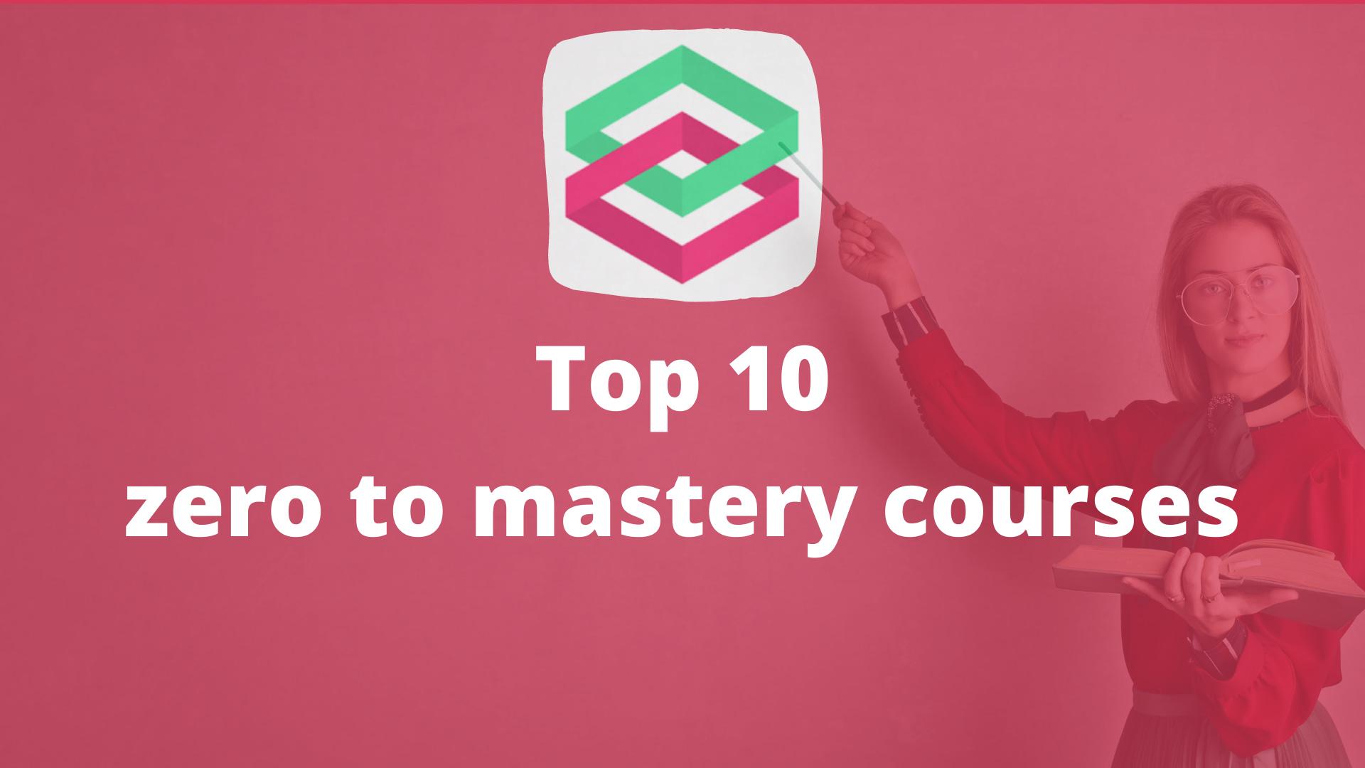 Top 10 zerotomastery courses